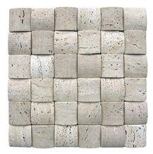 White Travertine Mosaic