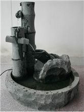 Black Granite Water Fountain