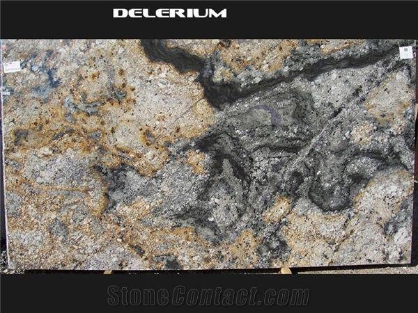 Delirium Granite Slabs Brazil Brown Granite From United