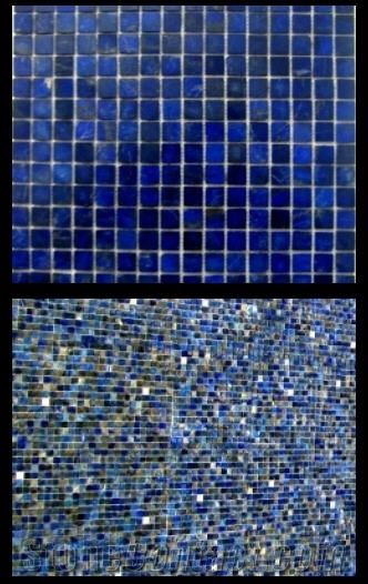 Lapis Lazuli Swimming Pool Tiles From Canada