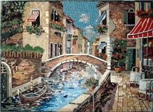Natural Stone Mosaic Picture,Art Works