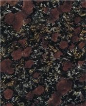 Night Rose Granite Slabs & Tiles