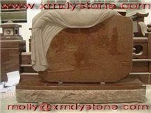 Qilu Red Granite Monument & Tombstone