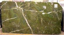 Verde Fantastico Granite Slabs