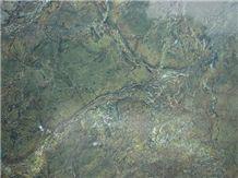 Verde Karzai Tipo Scuro Slabs & Tiles, Verde Karzai Granite Slabs & Tiles