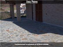 Pietra Di Luserna Flagstone Pavement
