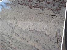 Silver Sparkle Granite Slab, India Grey Granite
