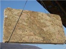 Antique Golden Granite Slabs