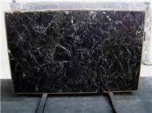Black Levanto Marble Slab, Brazil Black Marble