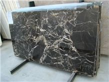 Nero St Laurent Marble Slab, France Black Marble