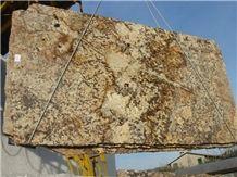 Persa Gold Exotic Granite Slabs