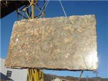 Yellow Palmeiras Granite Slab