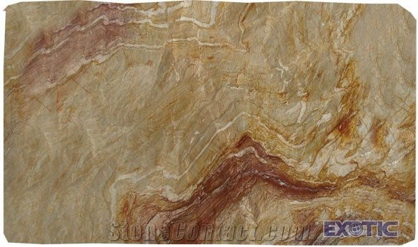 Nacarado Quartzite Tile Brazil Beige Quartzite 77532