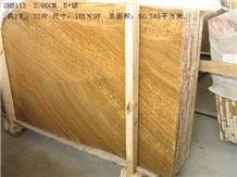 Golden Wood Marble, China Yellow Marble