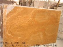 Golden Wood Vein Marble, China Yellow Marble