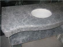Gray Grey Marble Vanity Top