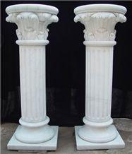White Marble Column, Roma Column