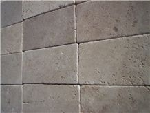 Tumbled Light-medium Travertine Pattern Slabs