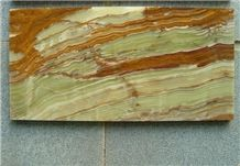 Bamboo Onyx Slabs & Tiles, China Green Onyx