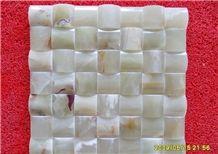 White Onyx Mosaic