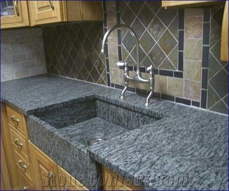 China Grey Granite Countertop 78179 Stonecontact Com