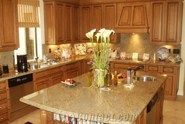 Madura Gold Granite Countertop From United States 78403