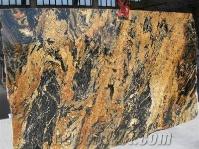 Magma Gold Granite Slab From Italy