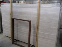 White Grains Limestone Vein Cut Slabs