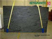 Iron Green Velvet Soapstone Slabs