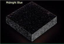 Midnight Blue Granite Slabs & Tiles, Angola Blue Granite