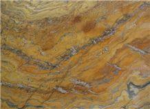 Yellow Bamboo Quartzite Slabs & Tiles, Brazil Yellow Quartzite