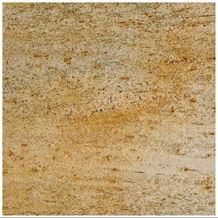 Kalahari Waves Granite Slabs & Tiles, India Yellow Granite