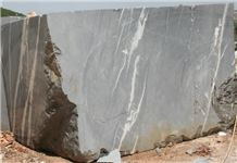 Montana Silver Marble Block, Silver Ice Marble, Grey Marble Blocks