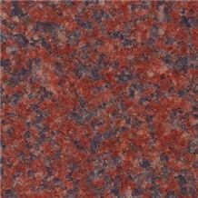 Red Binh Dinh Granite Tile