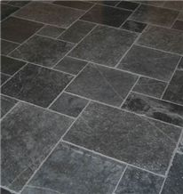 Vietnam Black Basalt Pattern Tiles