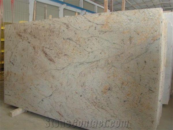 Ivory Chiffon Ivory Chifon Granite Slabs & Tiles Beige
