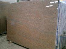 Ivory Fantasy Granite Slabs India Yellow Granite 73833
