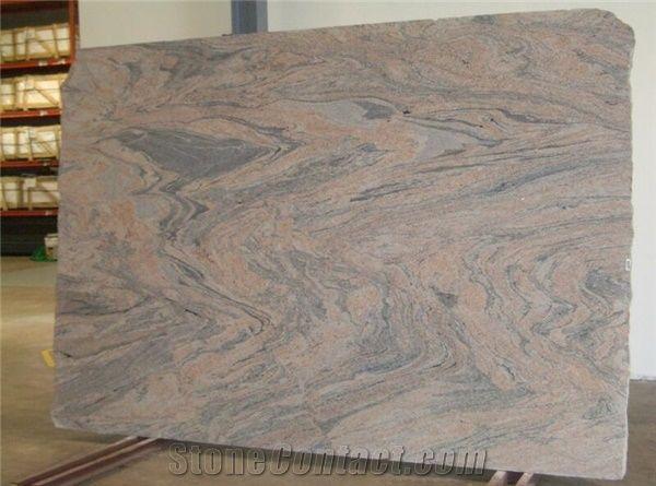 Juparana Colombo Granite Slab From India 86105