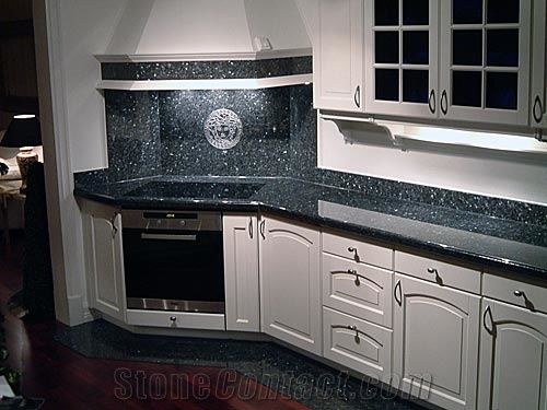 Blue Pearl Granite Countertop From Norway 83207