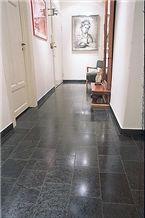 Otta Quartzite (otta Phyllite) Floor Tiles, Norway Black Quartzite