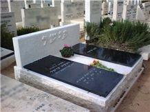 Black Granite Double Monument