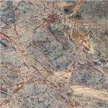 Forest Web Green Marble Slabs & Tiles