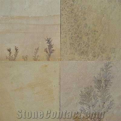 VAT 300x300 Sandstone Floor Tiles Wall Indian  /'Jurassic//Fossil Mint/' inc
