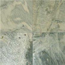 Zeera Green Slate Polished Slabs & Tiles, India Green Slate