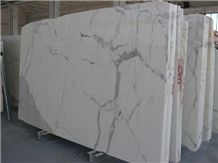 Statuario Extra Marble Slab, Italy White Marble