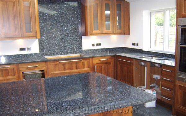 Blue Pearl Granite Kitchen Top From United Kingdom 85049