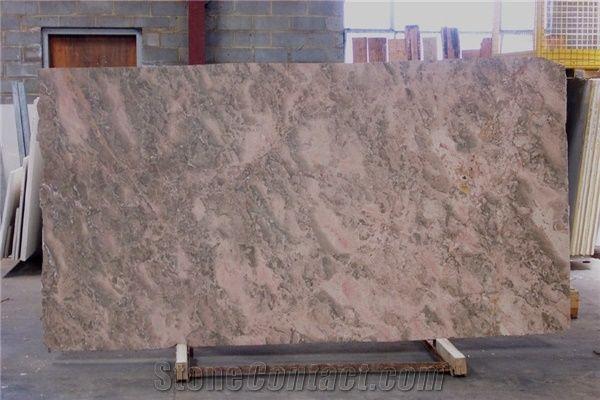 Breccia Tavira Limestone Slab Portugal Brown Limestone
