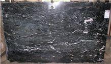 Verde Jaco Granite Slab, Italy Green Granite