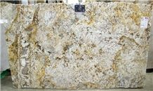Zeus Gold Granite Slab, Brazil Yellow Granite