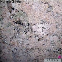 Namib Silver Granite Slabs & Tiles, Namibia Grey Granite